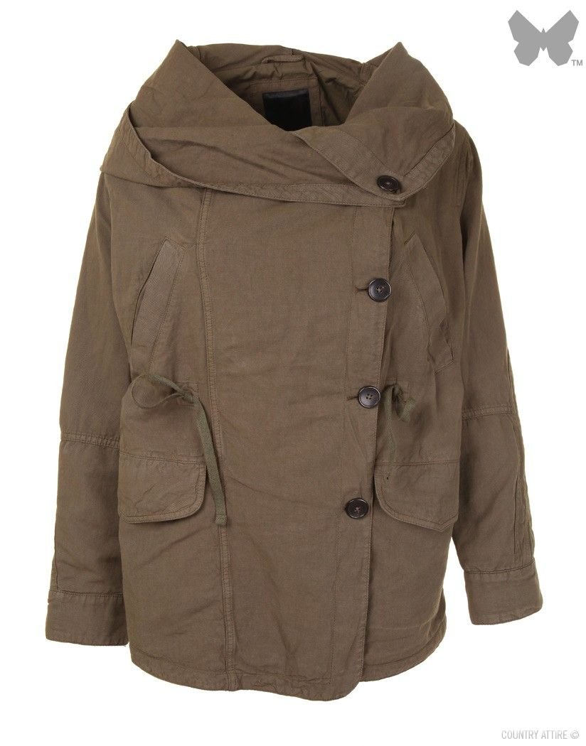 Denham Ladies' Rift Parka – Leaf Green | Coats, Jackets and Coat sale
