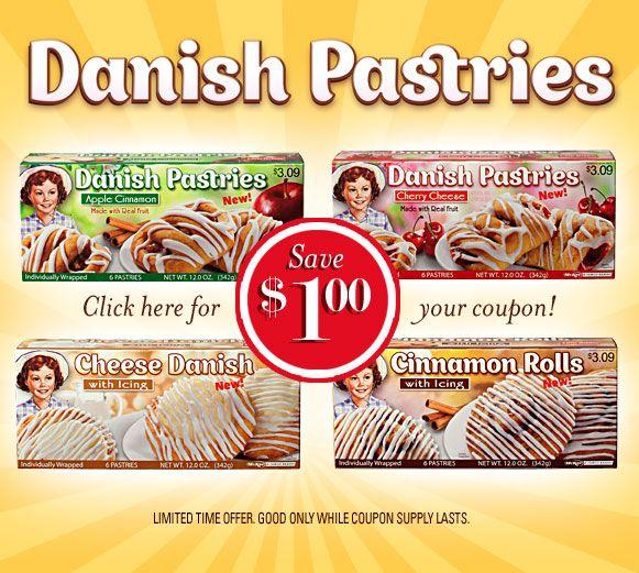 Little Debbie Snacks Unwrap A Smile Debbie Snacks Danish Pastry Cheese Danish