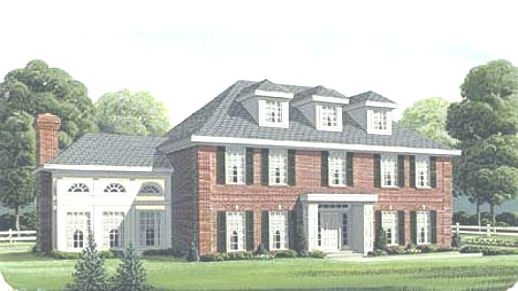 23 Fresh Georgian Style House Plans Photograph Georgian Style Homes Unique House Plans House Plans