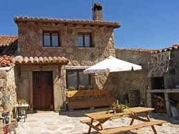 Resultado De Imagen Para Casa De Piedra Moderna Stone Cottages Mediterranean Homes Patio