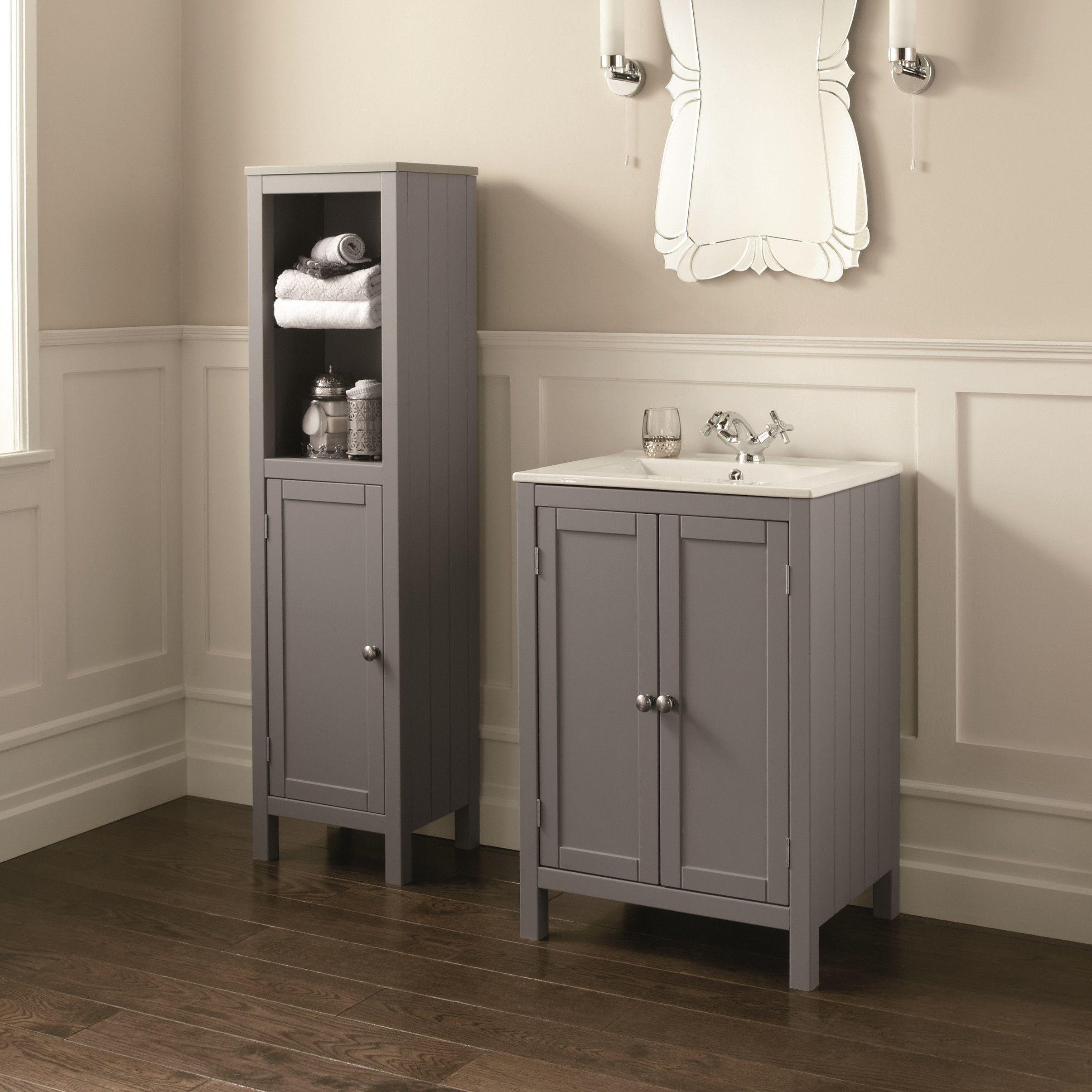 potential floor color | Cabin bath remodel | Pinterest | Vanity ...