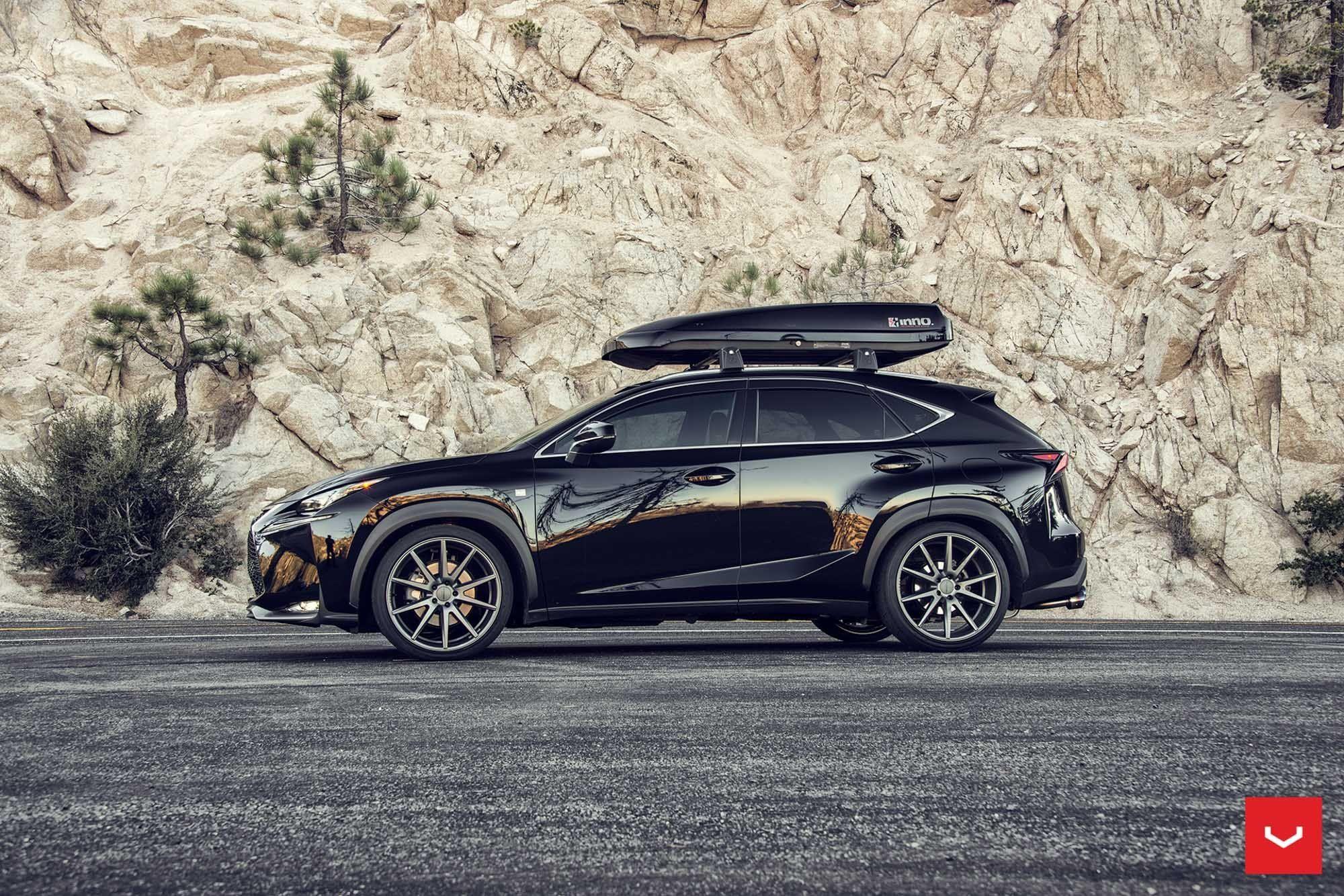 Vossen Vps 301 Custom Wheels On Black Lexus Nx200t Car Wheels Car Wheels Rims Car Wheels Diy