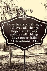 1 Cor. 13:7 <3