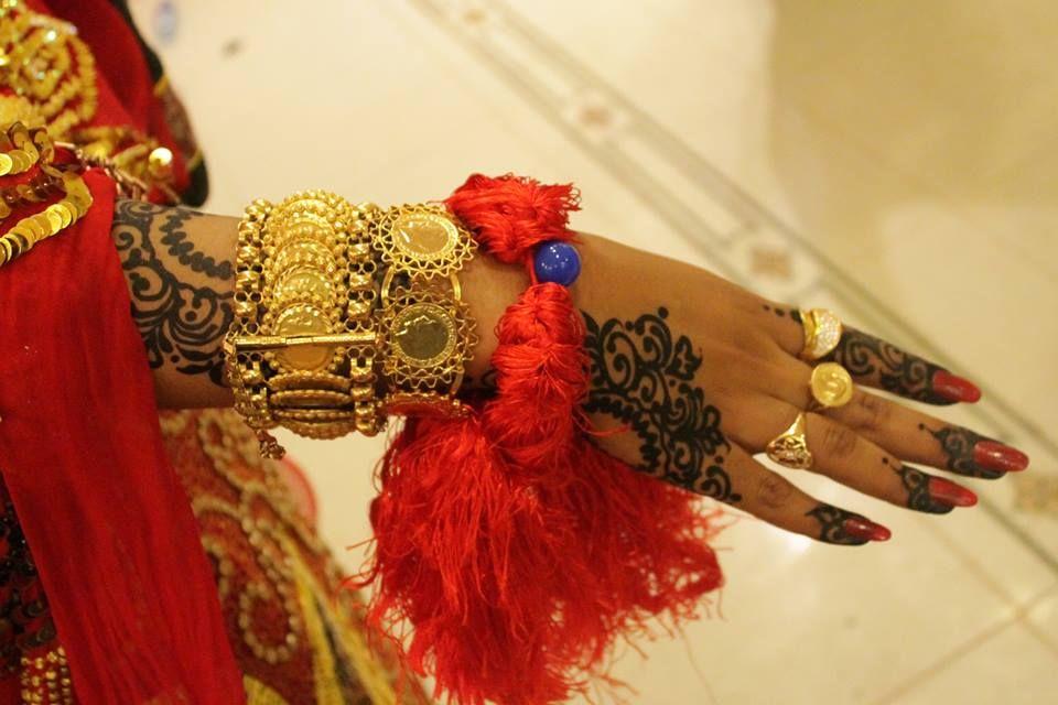 Mehndi Traditional Dresses : Mashallah beautiful sudanese bridal jartk or traditional
