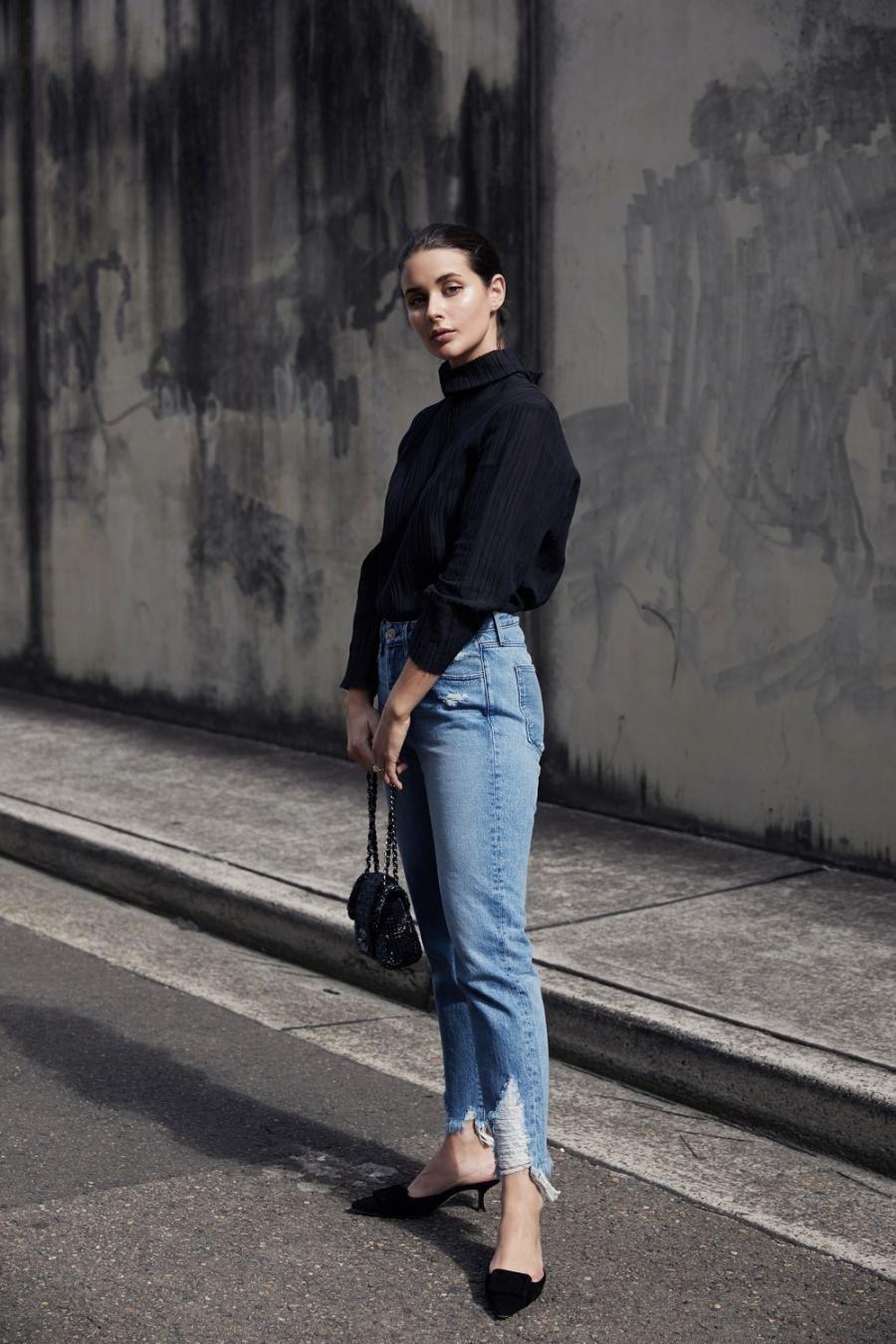 5 Ways To Rock Kitten Heels Bloglovin Fashion Fashion Bloglovin Fashion Fashion Clothes Women