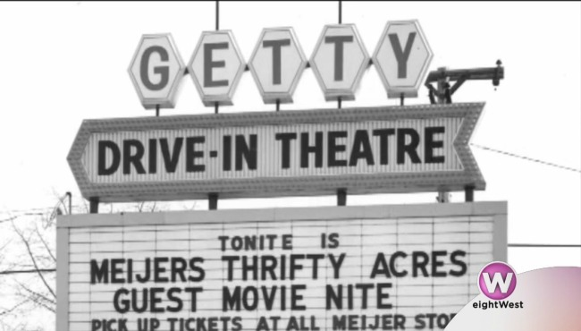 Relive The Past With Getty Drive In Driving Drive In Theater Relive