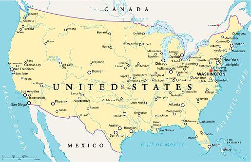 Miami Mapa Estados Unidos.Usa Map Nashville Miami New York Buscar Con Google Mapa