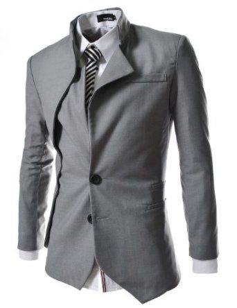 China Collar Jacket Designer Suits For Men Mens Outfits Unique