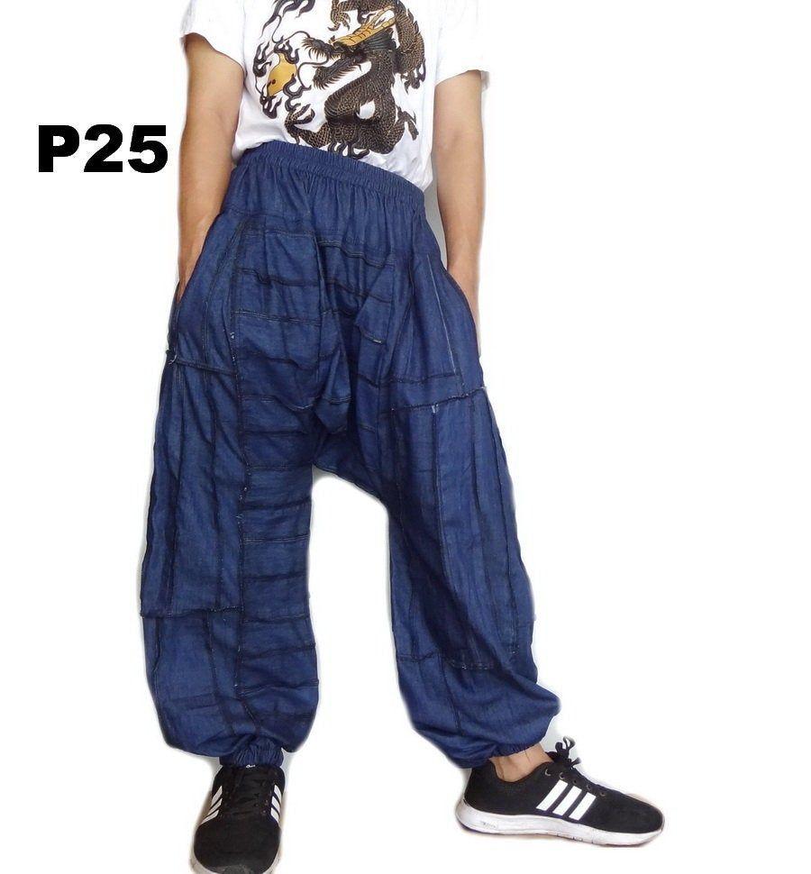 Ruffle Pants,Maxi Pants Baggy Pants Wide Leg Pants Bohemian Pants Drop Crotch Pants