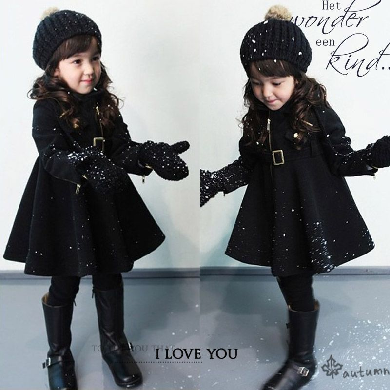 free shipping 2012 girls clothing autumn and winter baby wool coat ...