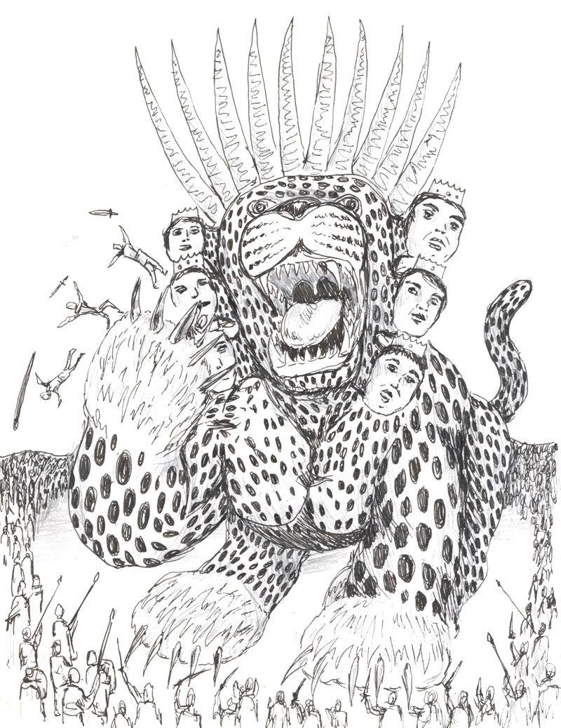 Revelation 13:4-7 Men worshiped the dragon because he had
