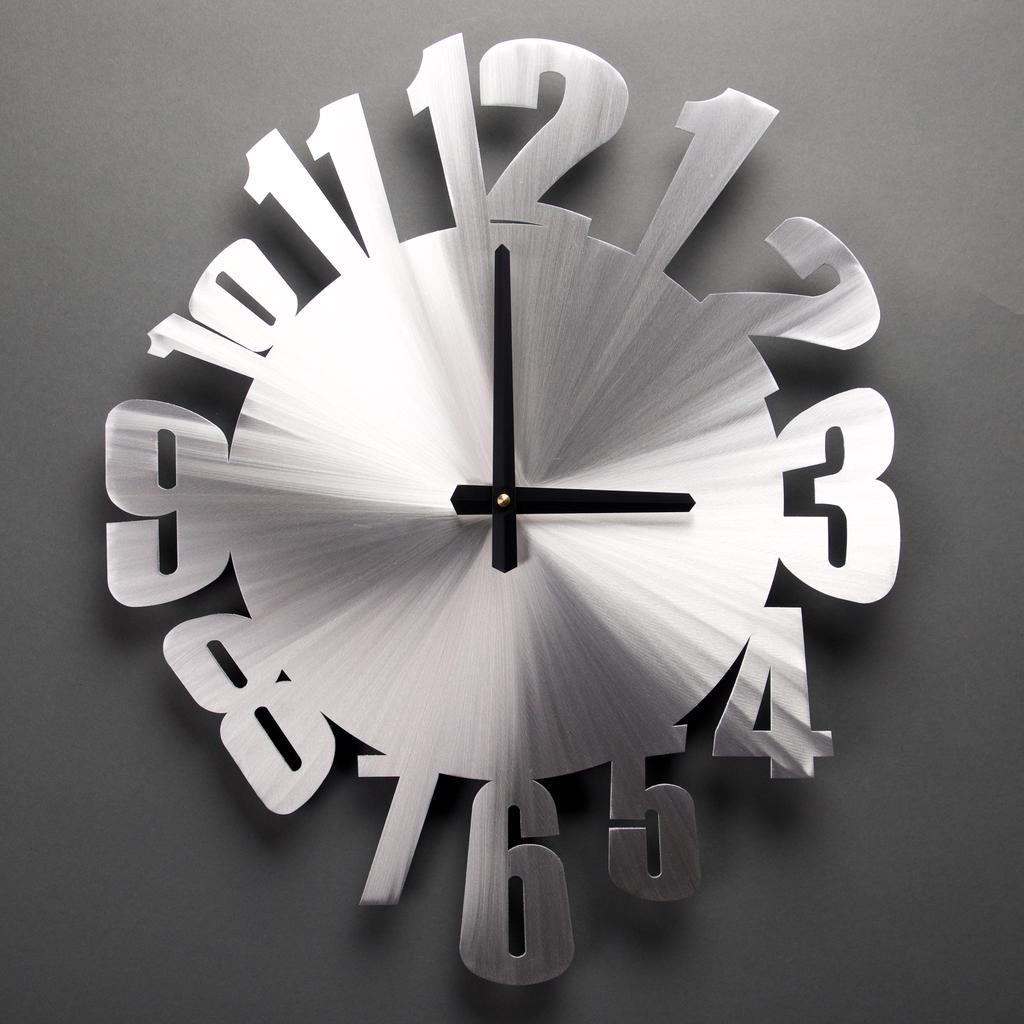 Warped Wall Clock By Sondra Gerber 20 1 2 X 25 Wall Clock Clock Wall Clock Design