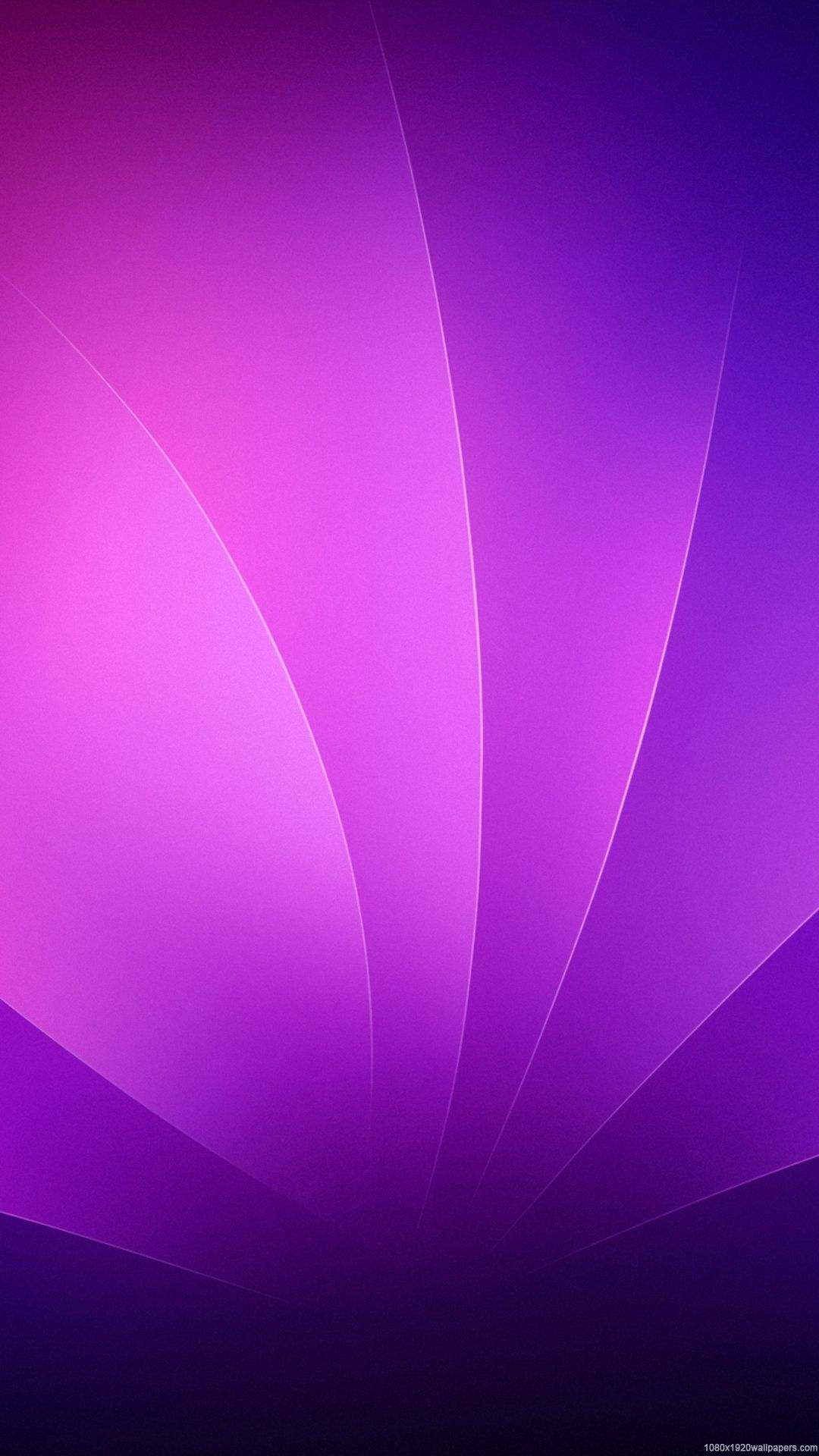 1080x1920 Leaves Line Abstract Purple Wallpapers HD