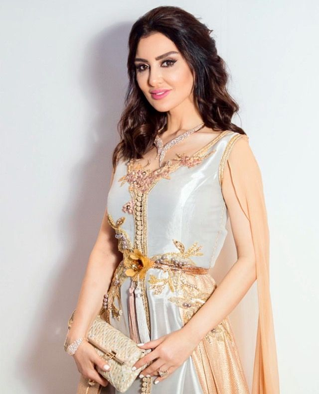 ميساء مغربي بقفطان سلمى بن عمر Moroccan Dress Moroccan Caftan Moroccan Fashion