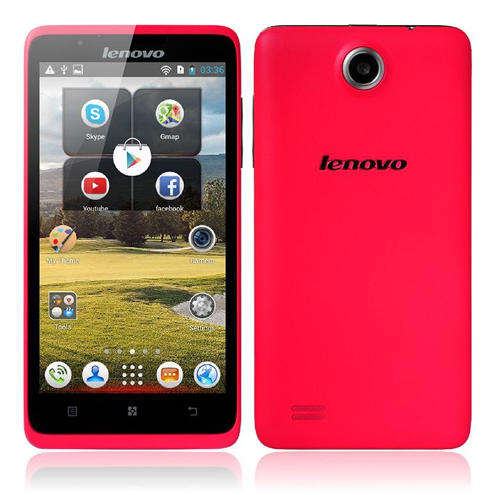Original #Lenovo #A656 #Pink MTK6589 Quad Core 1 2GHz