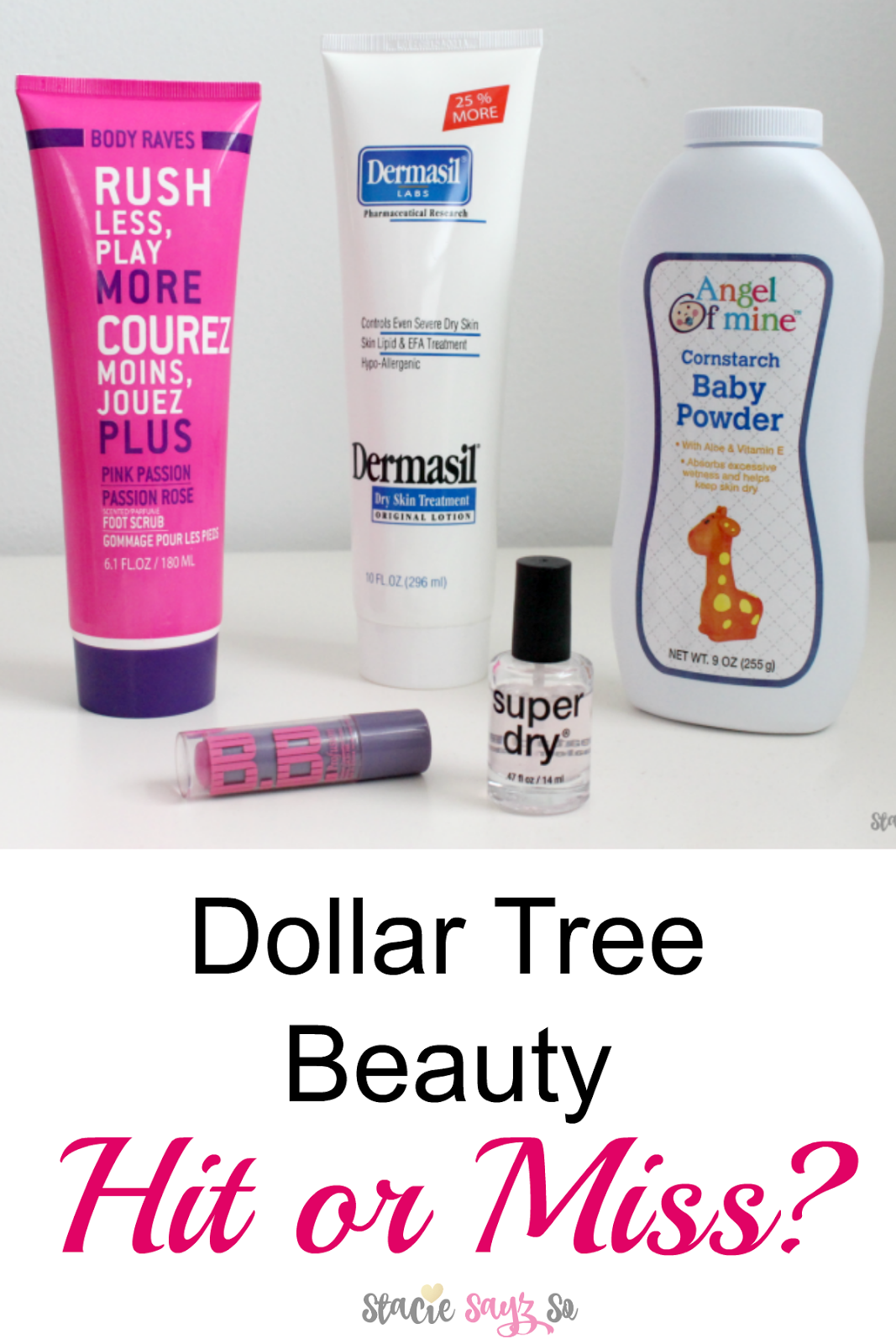 Dollar Tree Beauty Hit or Miss? Have you ever wondered