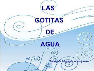 Mi Baúl De Recursos Cuento La Gotita De Agua Ciclo Del Agua Recursos De Enseñanza De Español Cuento Del Agua