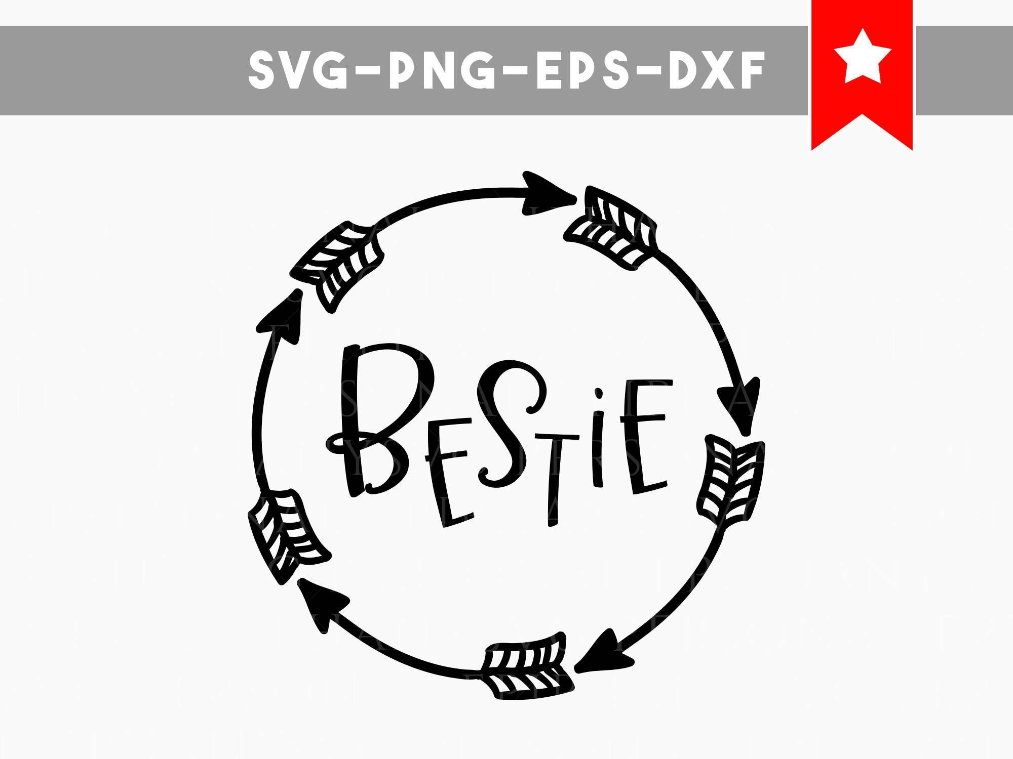 Besties Svg Cricut Designs Bestie Shirt Svg Besties Cut