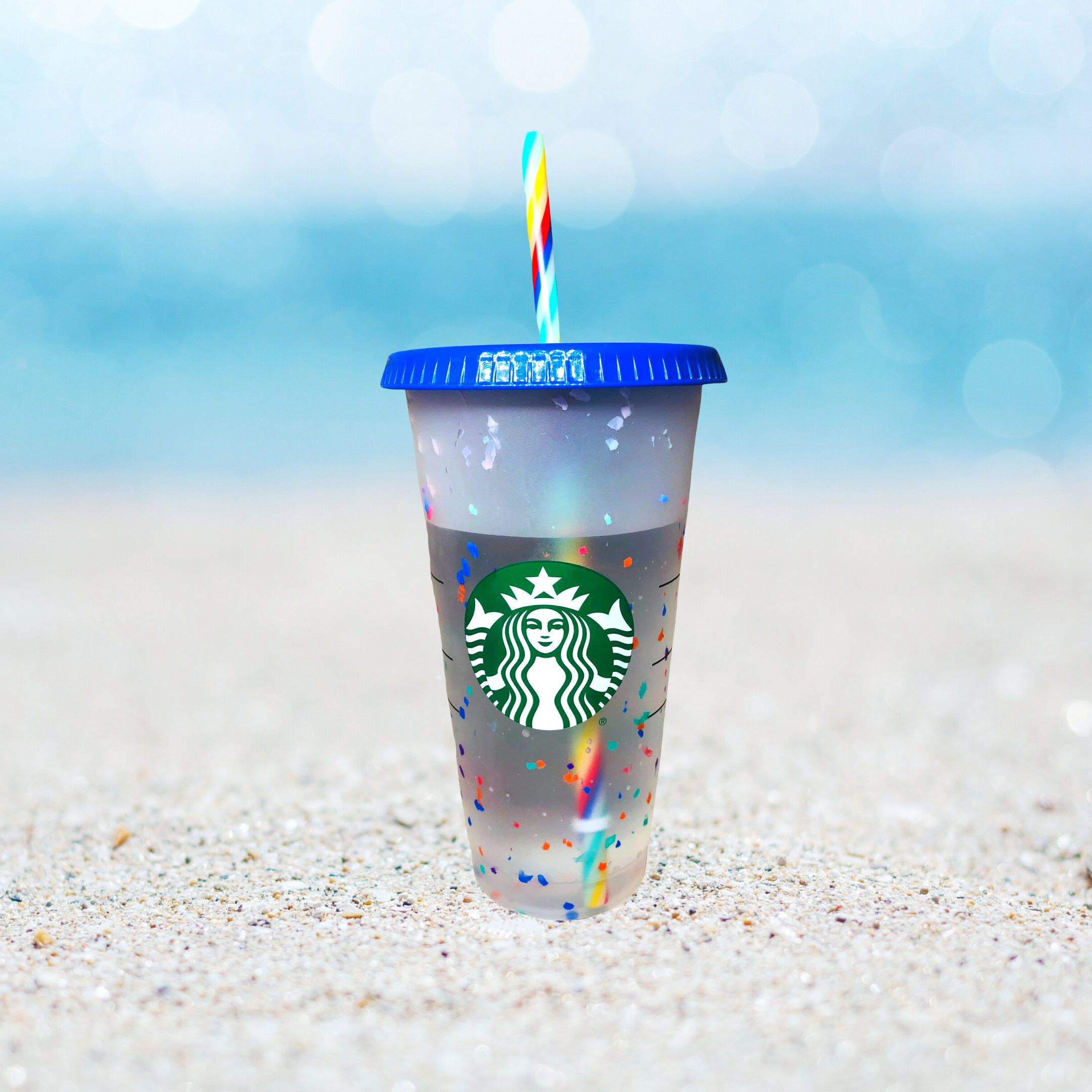 NEW Limited Edition Confetti Cup SUMMER 2020 Blank