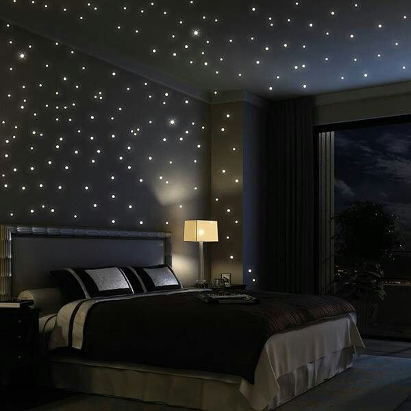Light Up Your Bedroom With These Stars Wall Decals Bedroom