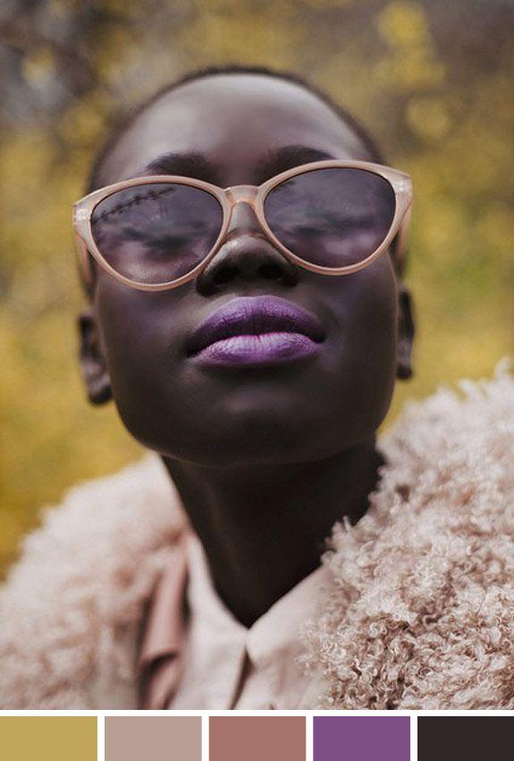 Hoje me deu vontade de usar batom lilás! A insipração veio dessa foto linda, b25fc45619