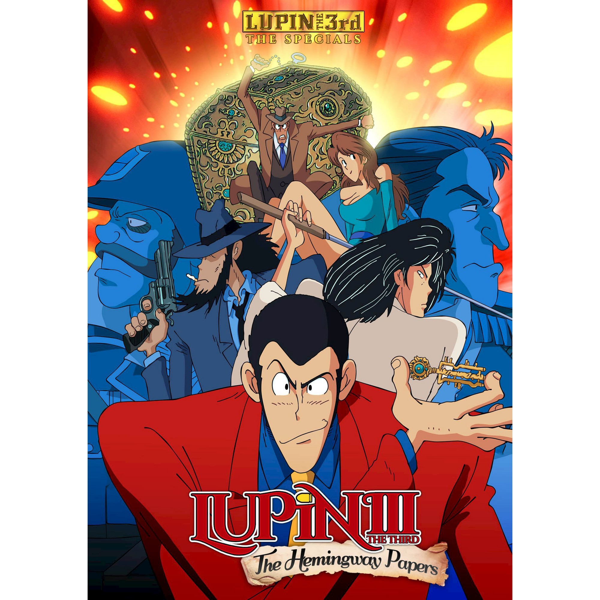 Lupin the 3rd The Hemingway Papers (DVD) Products