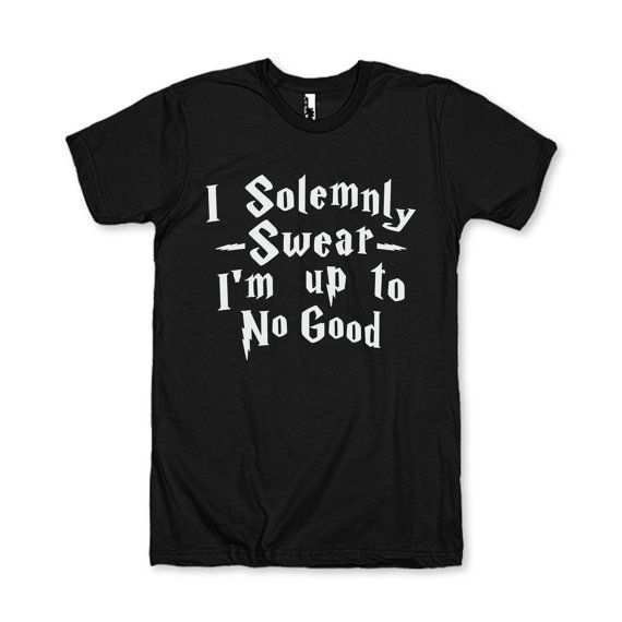 I Solemnly Swear I'm Up To No Good by AwesomeBestFriendsTs on Etsy