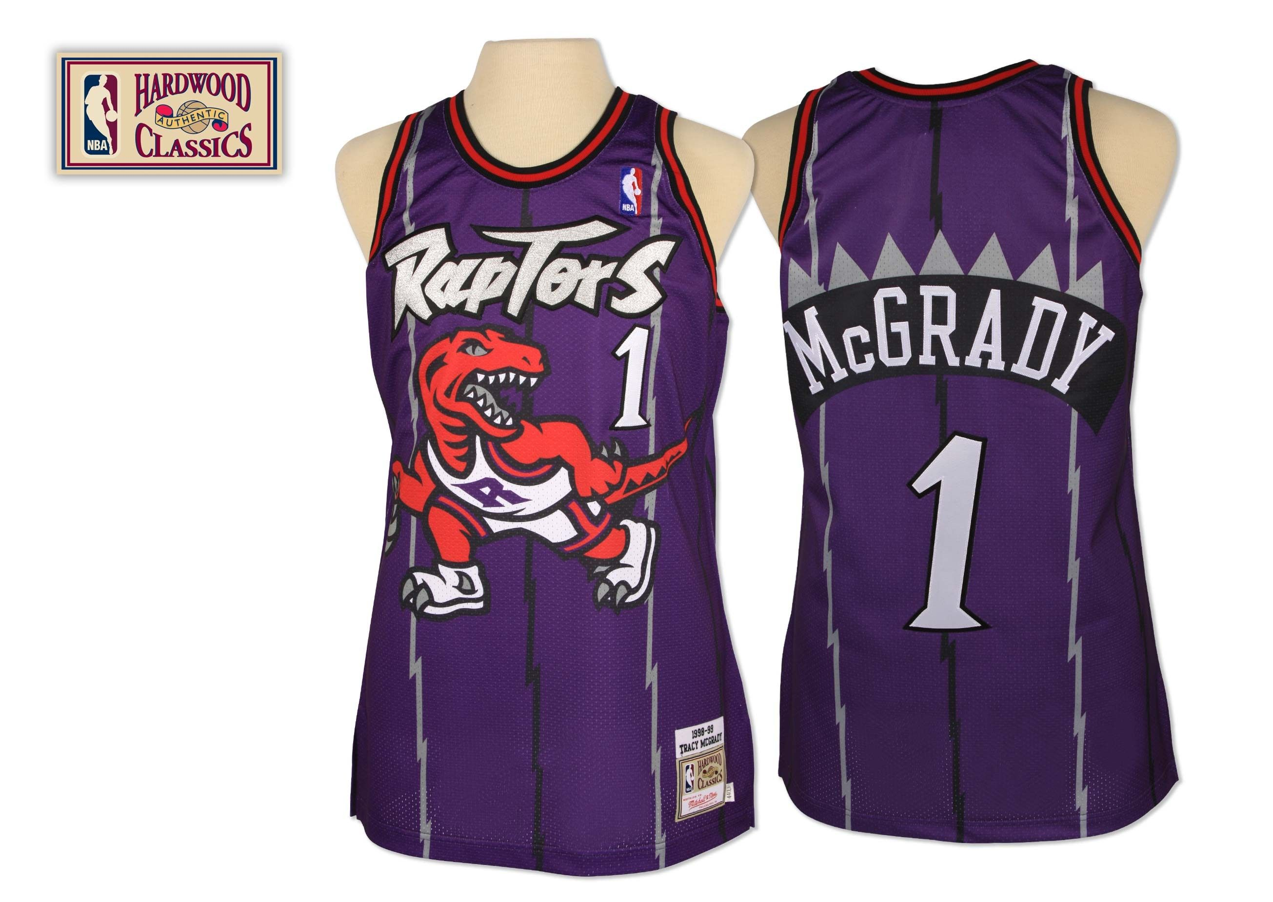 Tracy McGrady Authentic Jersey Toronto Raptors Mitchell & Ness Nostalgia Co.