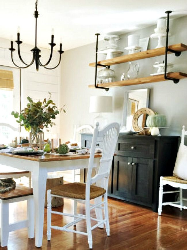 6 creative storage solutions for a kitchen with no upper cabinets home home kitchens upper on farmhouse kitchen no upper cabinets id=56526