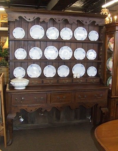 Large French Country China Cabinet  Iu0027d Love A Hutch Like This On Top Of A  Buffet.