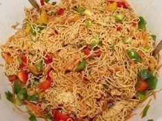 Mienudel-Salat Rezept #essenundtrinken