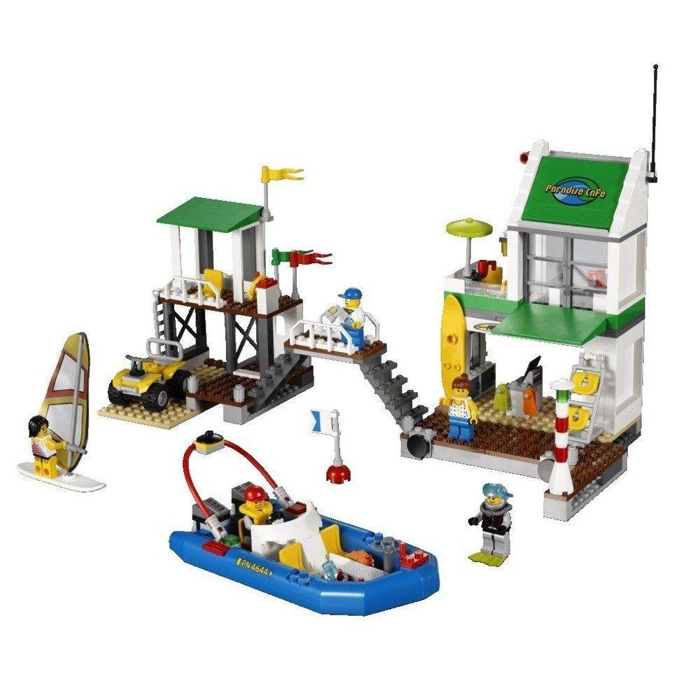 Đồ chơi LEGO CITY 4644 Bến Du Thuyền 2 (With images