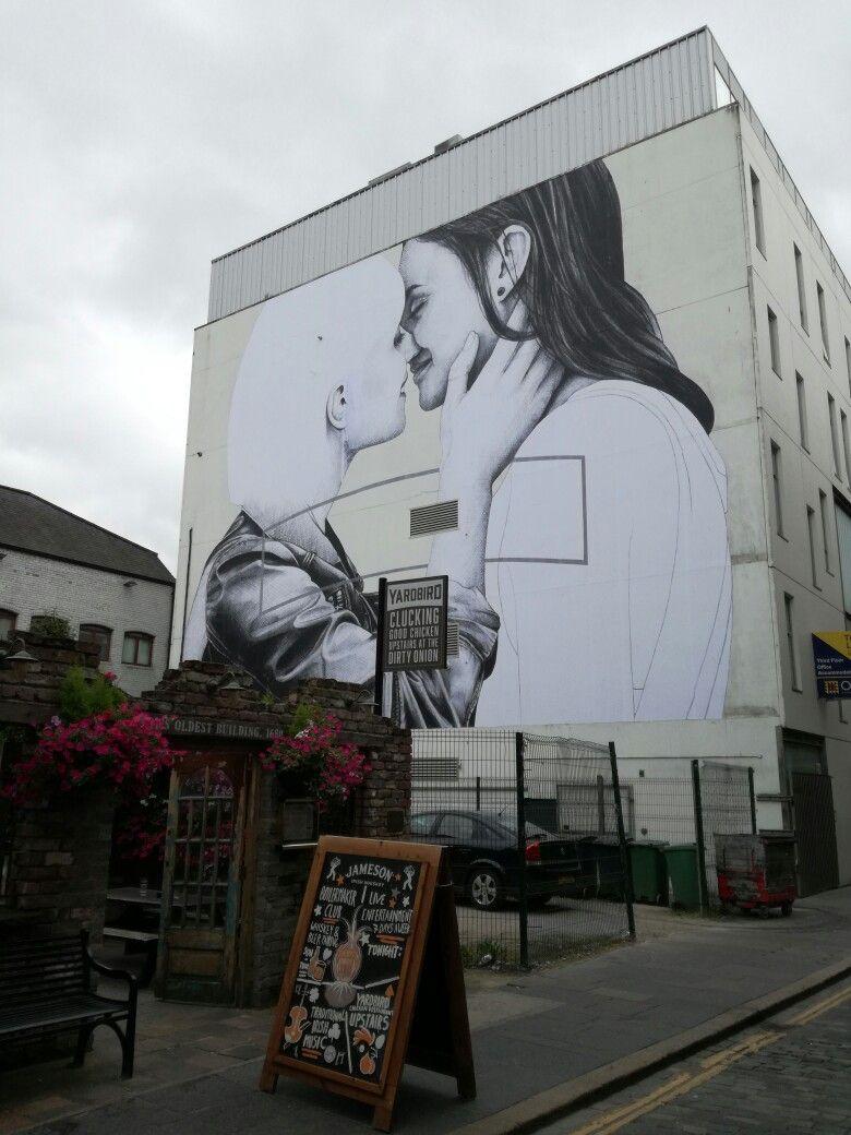 Precioso Mural en Belfast