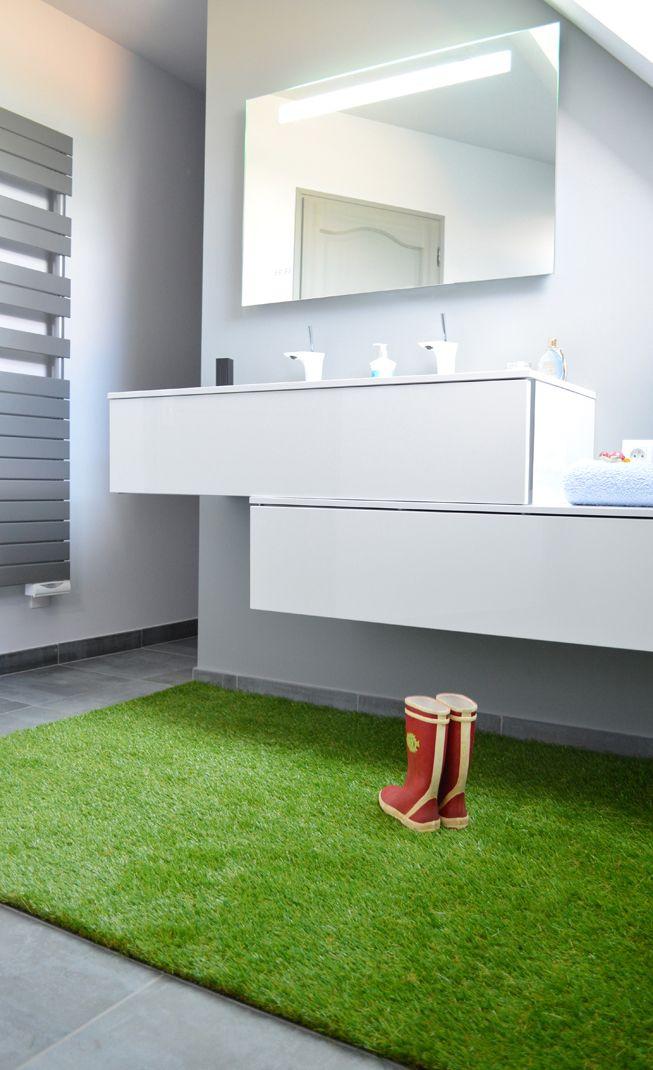 de l 39 herbe dans votre salle de bain c 39 est possible avec. Black Bedroom Furniture Sets. Home Design Ideas