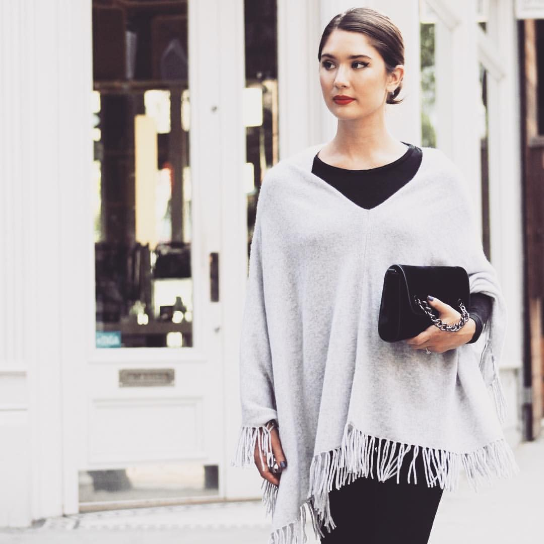 Fall cashmere, Margaret O'Leary #fallstyle #nyfw #streetstyle #fallfashion