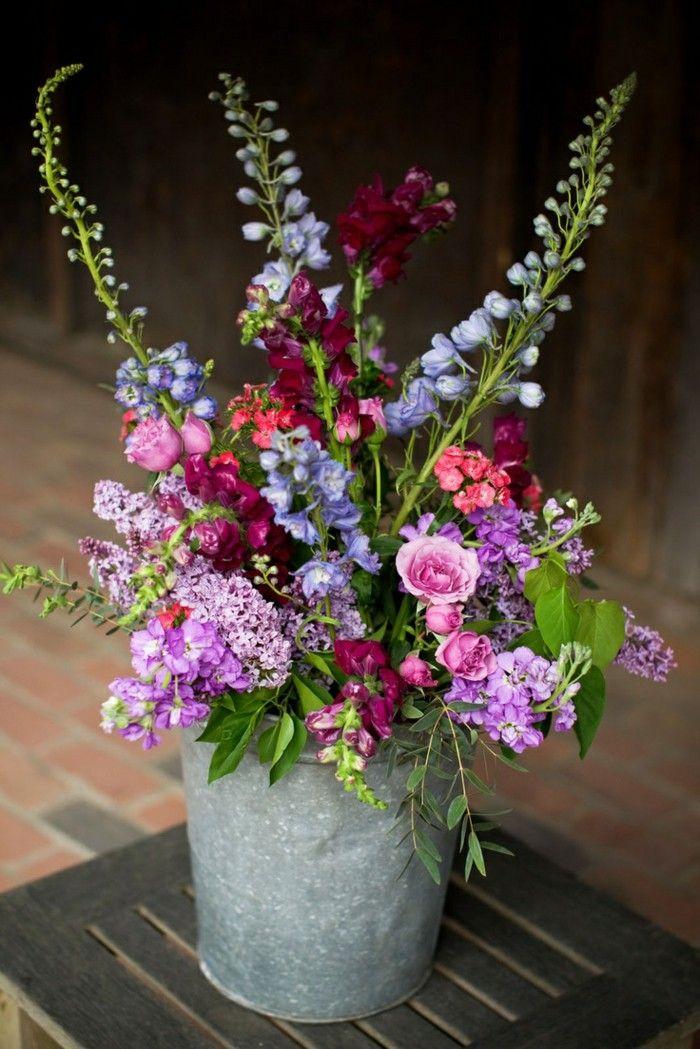 floral arrangements in a bucket - Google Search   Flower ...