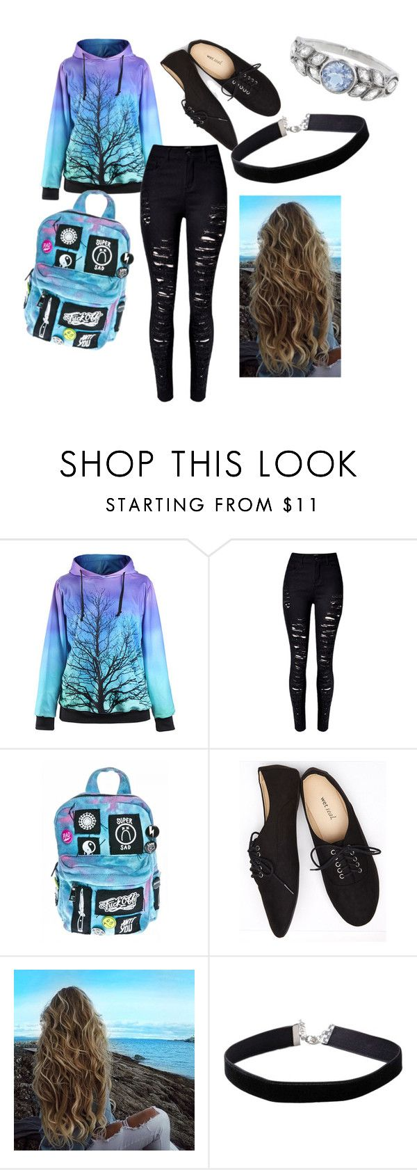 """""""settle fall day outfit"""" by pipsqueekpop ❤ liked on Polyvore featuring Current Mood, Wet Seal, Miss Selfridge and Cathy Waterman"""
