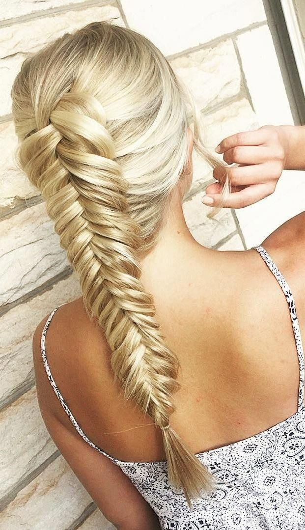 herringbone braid for long straight hair #Braidedhairstyles | Straight hairstyles, Hair styles ...