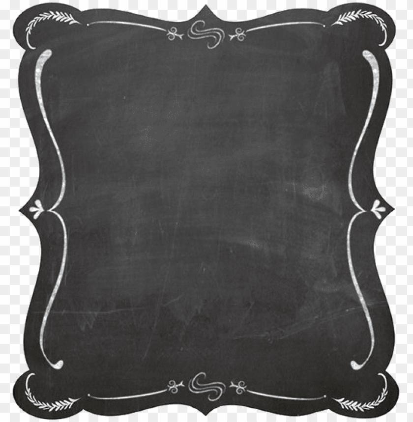 Chalkboard Frame Vector Png Image With Transparent Background Png Free Png Images Framed Chalkboard Simple Borders Chalkboard