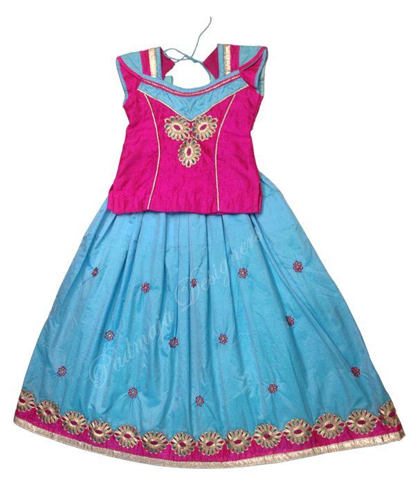 Padmaja Designers Logic Prog Kids Blouse Designs Kids Lehenga Long Frocks For Girls