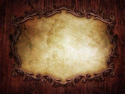 foto de Grunge frame (com imagens) | Modelo de convite aniversario ...