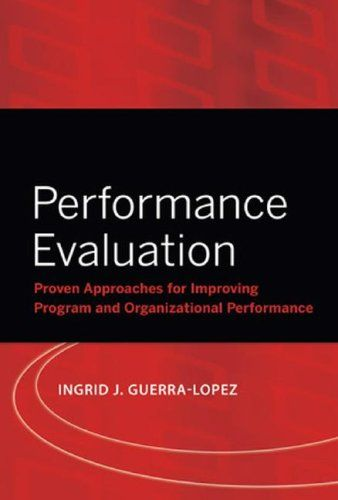 Bestseller Books Online Performance Evaluation Proven Approaches - performance evaluation