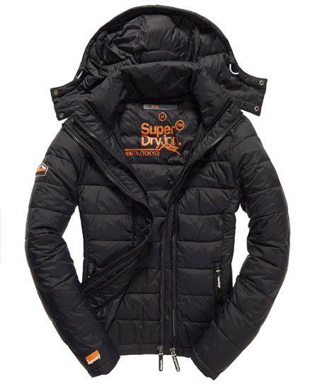 Abrigo Impermeable Para Hombre SUPERDRY Fuji Double Zip Hood