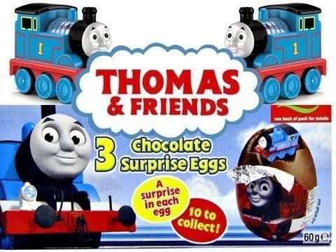 Thomas and Friends Surprise Eggs Unboxing 2014