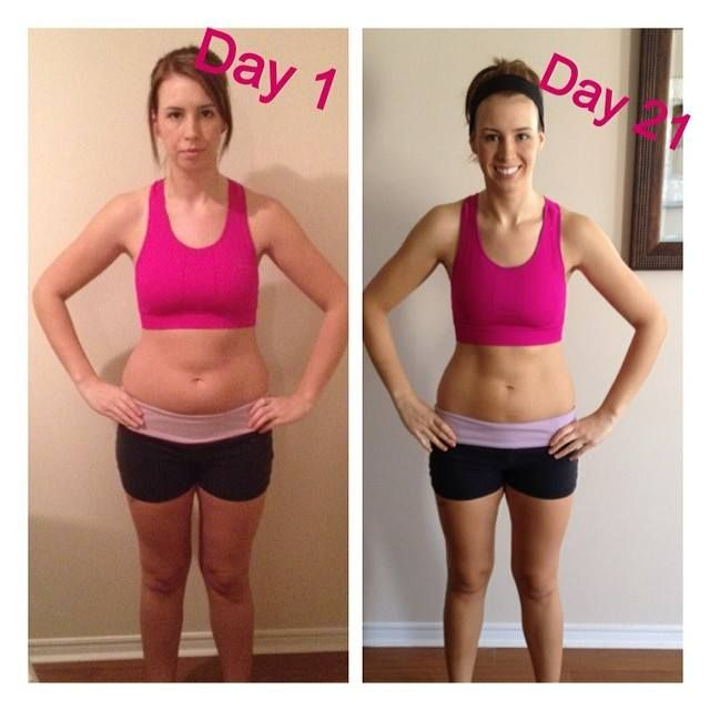 21 Day Fix results. With the 21 Day Fix diet there's no counting, no