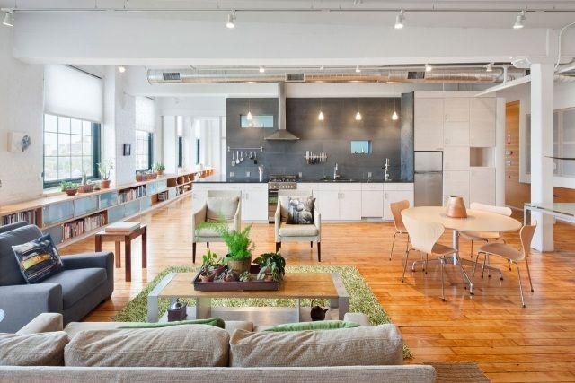 50 Wohnungseinrichtung Ideen - Loft-Wohnung einrichten interior - wohnungseinrichtung inspiration