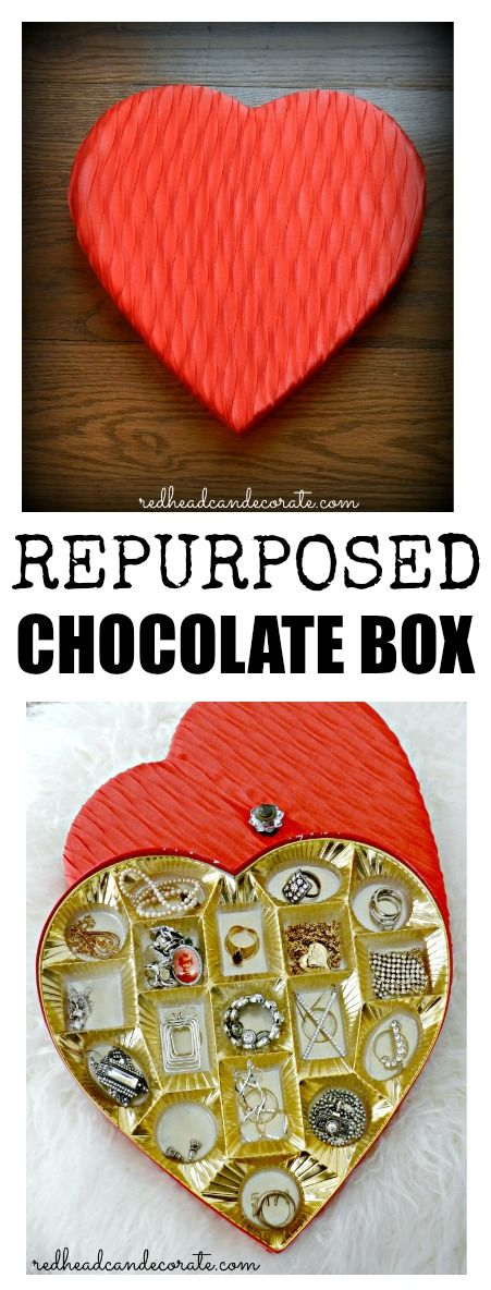 Thrifty Heart Jewelry Box - Redhead Can Decorate
