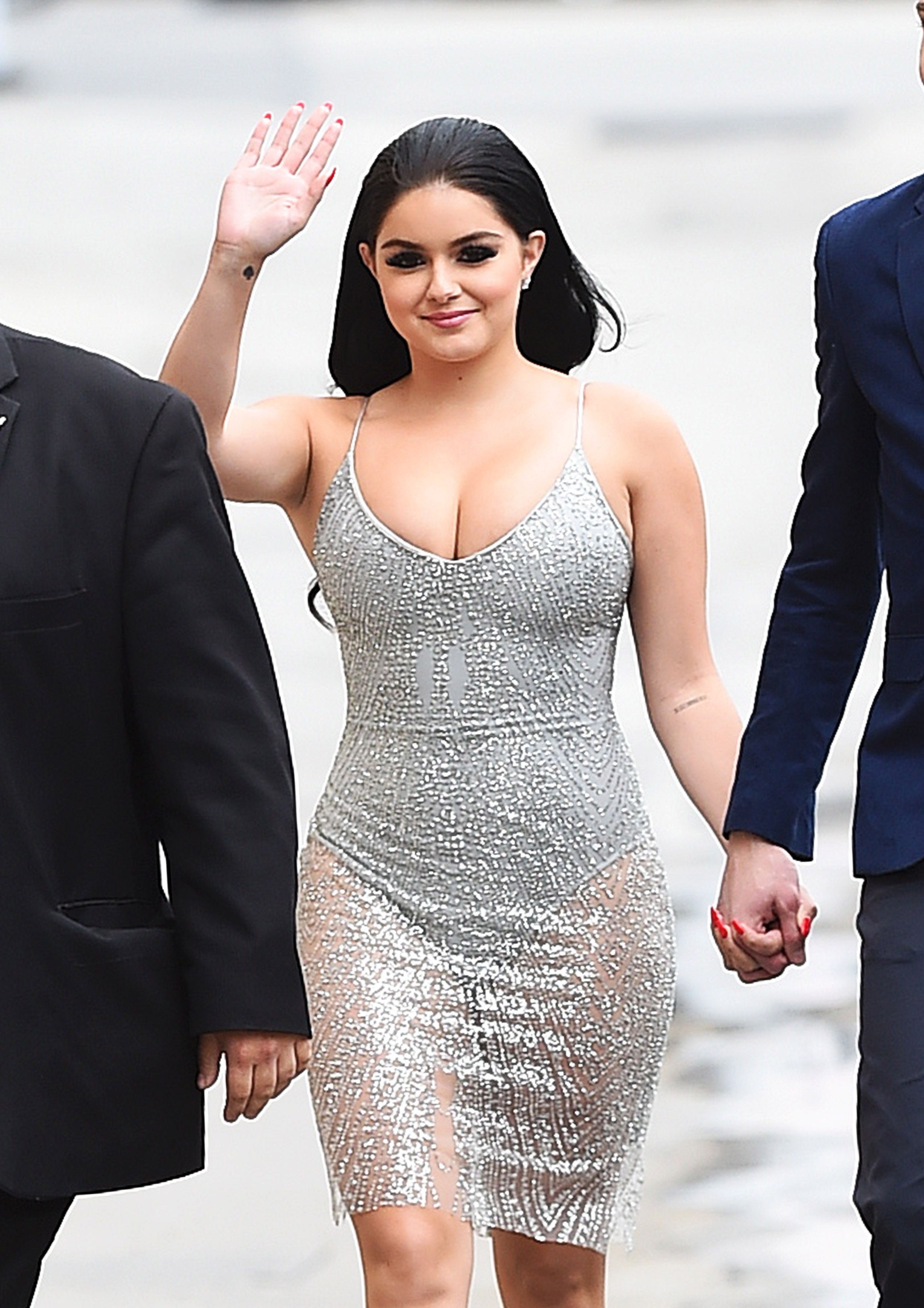 pictures Ariel winter arriving to appear on jimmy kimmel show in los angeles