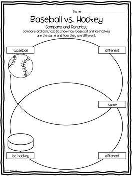 baseball compare and contrast Free essay: baseball or softball strike one, strike two, strike three you're out these are things that are heard during a baseball or softball game both.