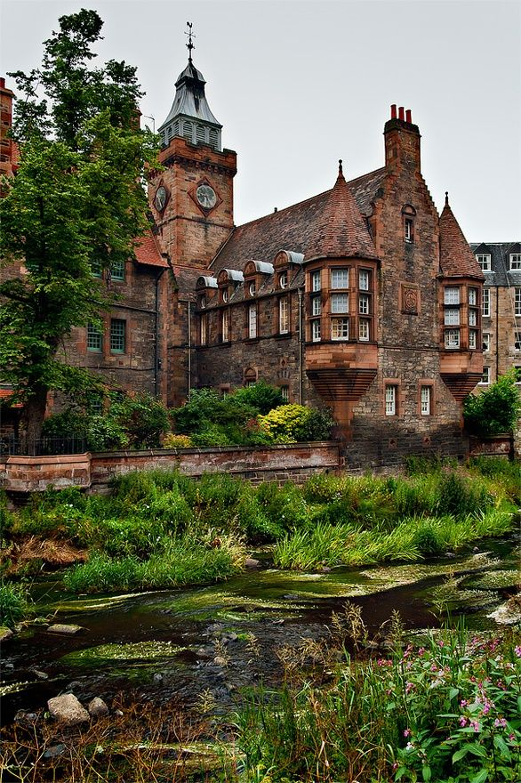 Dean Village, Scotland, UK